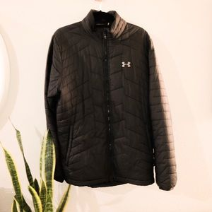 Black Under Armour Insulated Jacket